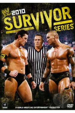WWE: Survivor Series 2010 DVD Cover Art
