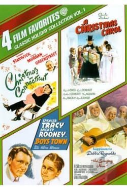 Classic Holiday Collection, Vol. 1: 4 Film Favorites DVD Cover Art