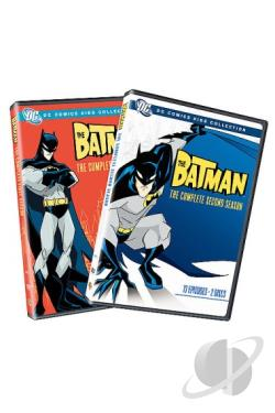 Batman - The Complete Seasons 1 & 2 DVD Cover Art