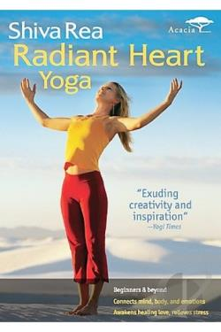 Shiva Rea - Radiant Heart Yoga DVD Cover Art
