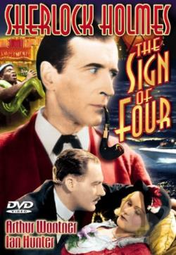 Sherlock Holmes - The Sign of Four DVD Cover Art