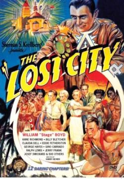 Lost City DVD Cover Art
