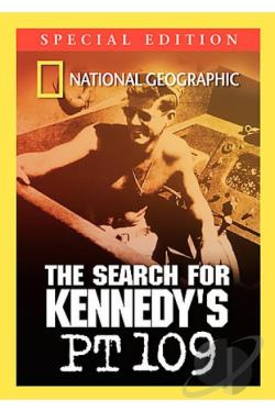 National Geographic - PT 109: Kennedy's Lost Ship DVD Cover Art