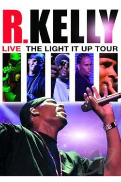 R. Kelly - Live! The Light It Up Tour DVD Cover Art