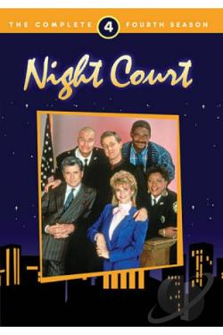 Night Court - The Complete Fourth Season DVD Cover Art