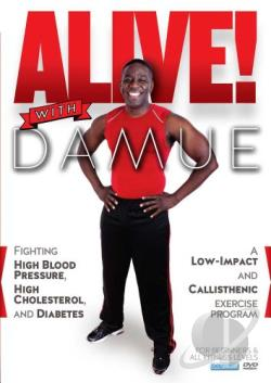 Alive! With Damue: A Low-Impact and Callisthenic Exercise Program DVD Cover Art