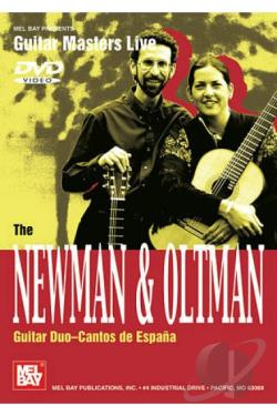 Newman & Oltman Guitar Duo: Cantos De Espana DVD Cover Art