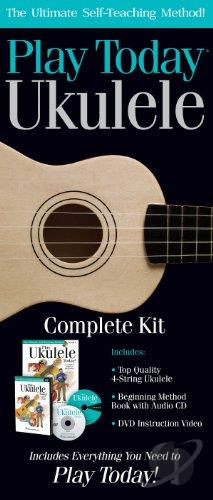 Play Ukulele Today Complete Kit: Play Ukulele DVD Cover Art