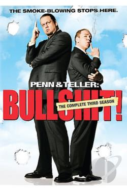 Penn & Teller - Bullshit! - 3-Season Pack DVD Cover Art