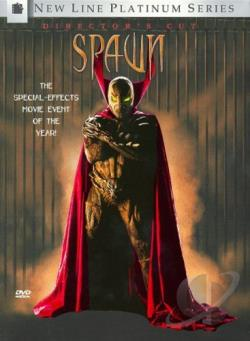 Spawn DVD Cover Art