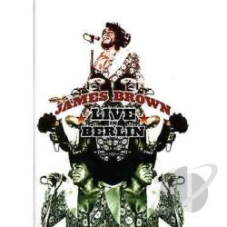 James Brown - Live in Berlin DVD Cover Art