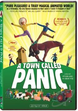 Town Called Panic DVD Cover Art