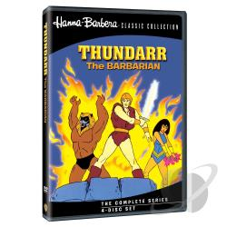 Hanna-Barbera Classic Collection - Thundarr the Barbarian - The Complete Series DVD Cover Art