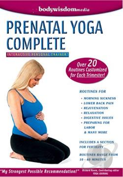Prenatal Yoga Complete DVD Cover Art
