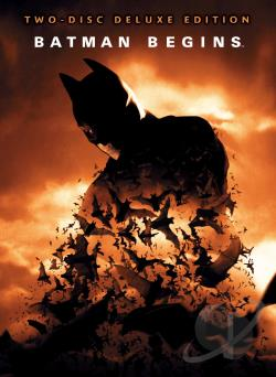 Batman Begins: Deluxe Edition DVD Cover Art