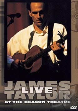 James Taylor - Live At The Beacon Theatre DVD Cover Art