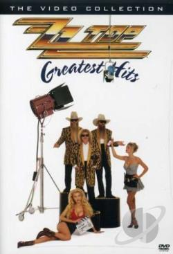 ZZ Top - Greatest Hits: The Video Collection DVD Cover Art