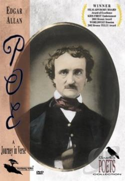 Master Poets Collection - Edgar Allan Poe: A Journey in Verse DVD Cover Art