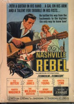 Waylon Jennings - Nashville Rebel DVD Cover Art