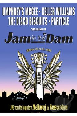 Jam in the Dam DVD Cover Art