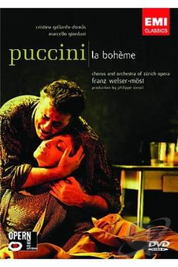 Franz Welser-Most & Zurich Opera House - Puccini: La Boheme DVD Cover Art