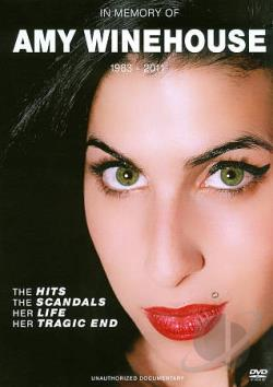 Amy Winehouse: In Memory Of DVD Cover Art