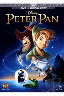 Peter Pan DVD Cover Art