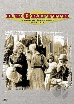 D.W. Griffith: Years of Discovery: 1909-1913 DVD Cover Art
