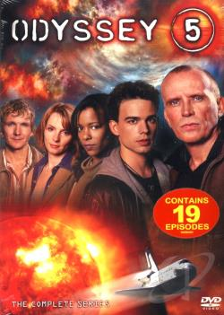 Odyssey 5 - The Complete Series DVD Cover Art
