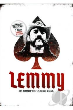 Lemmy DVD Cover Art