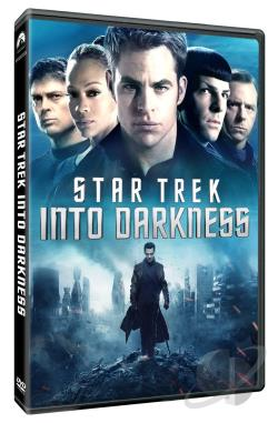 Star Trek Into Darkness DVD Cover Art