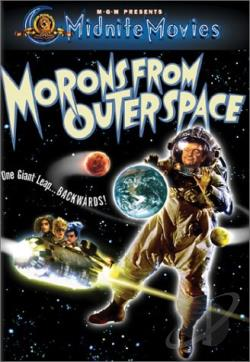 Morons From Outer Space DVD Cover Art