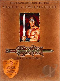 Conan - The Complete Quest DVD Cover Art