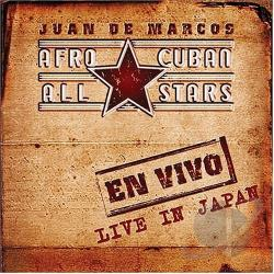 Afro Cuban All Stars - Live in Japan DVD Cover Art