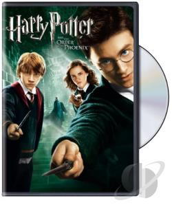 Harry Potter and the Order of the Phoenix DVD Cover Art