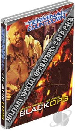 Military Special OPS - Black OPS/Terminal Countdown DVD Cover Art