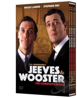 Jeeves and Wooster - The Complete Collection DVD Cover Art