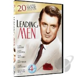 Leading Men: 20 Classic Movie Collection DVD Cover Art