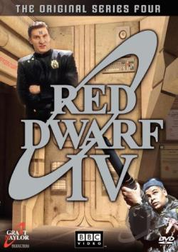 Red Dwarf - Series 4 DVD Cover Art