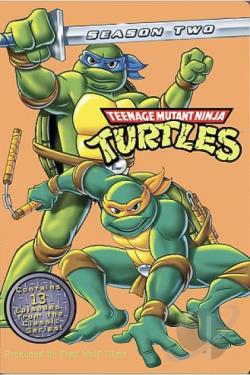 Teenage Mutant Ninja Turtles - Volume 2 DVD Cover Art