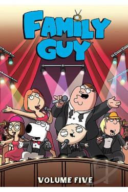 Family Guy - Volume 5 DVD Cover Art