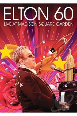 Elton 60: Live At Madison Square Garden DVD Cover Art