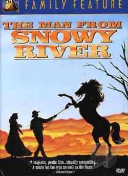 Man From Snowy River DVD Cover Art