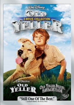 Old Yeller 2-Movie Collection DVD Cover Art
