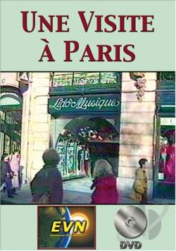 Visite a Paris DVD Cover Art