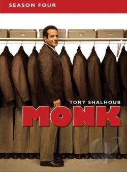 Monk - The Complete Fourth Season DVD Cover Art