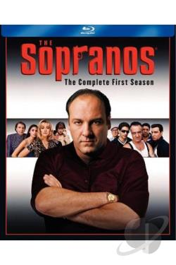 Sopranos - The Complete First Season BRAY Cover Art