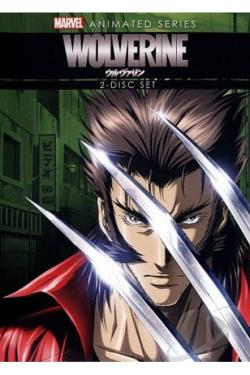 Wolverine: The Animated Series DVD Cover Art