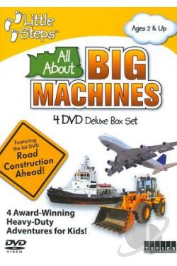 All About Big Machines DVD Cover Art