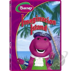 Barney - Barney's Imagination Island DVD Cover Art